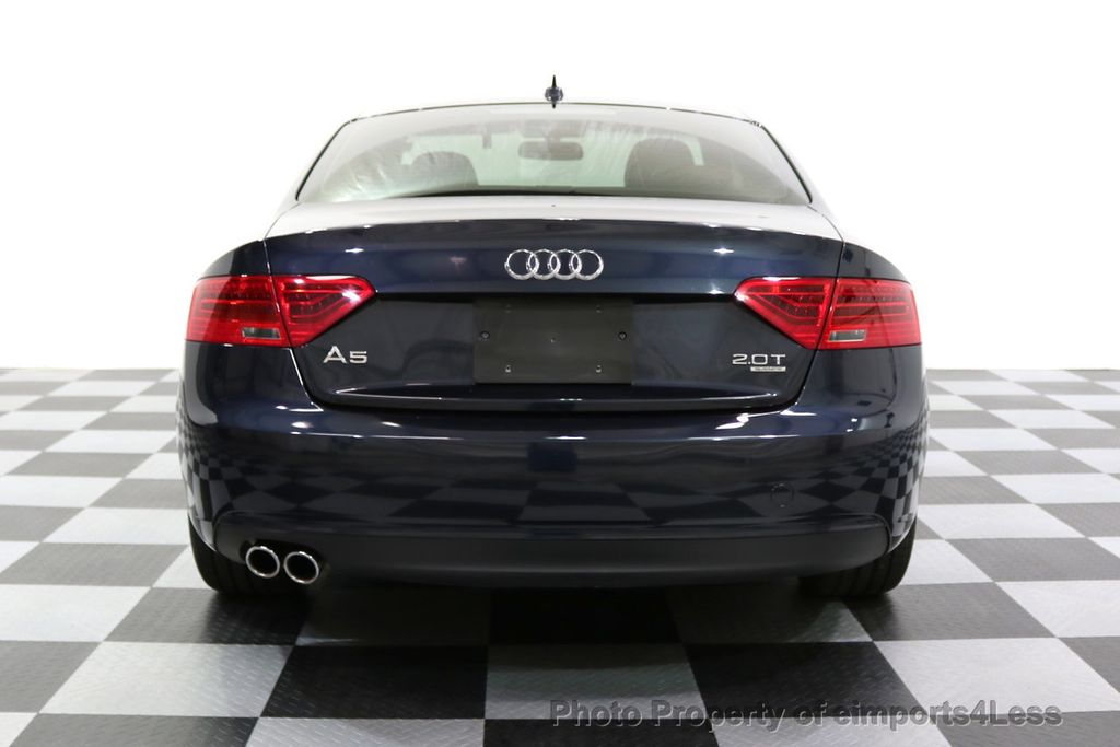 2015 Audi A5 CERTIFIED A5 2.0t Quattro AWD 6 SPEED MANUAL TRANSMISSION - 17718772 - 31