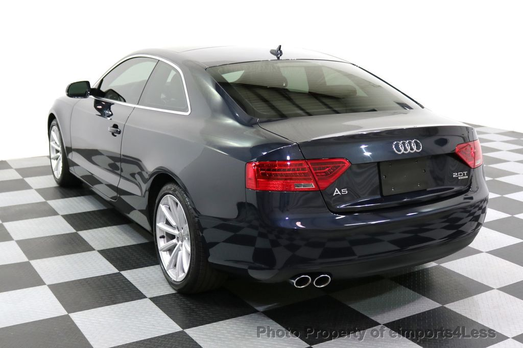 2015 Audi A5 CERTIFIED A5 2.0t Quattro AWD 6 SPEED MANUAL TRANSMISSION - 17718772 - 52