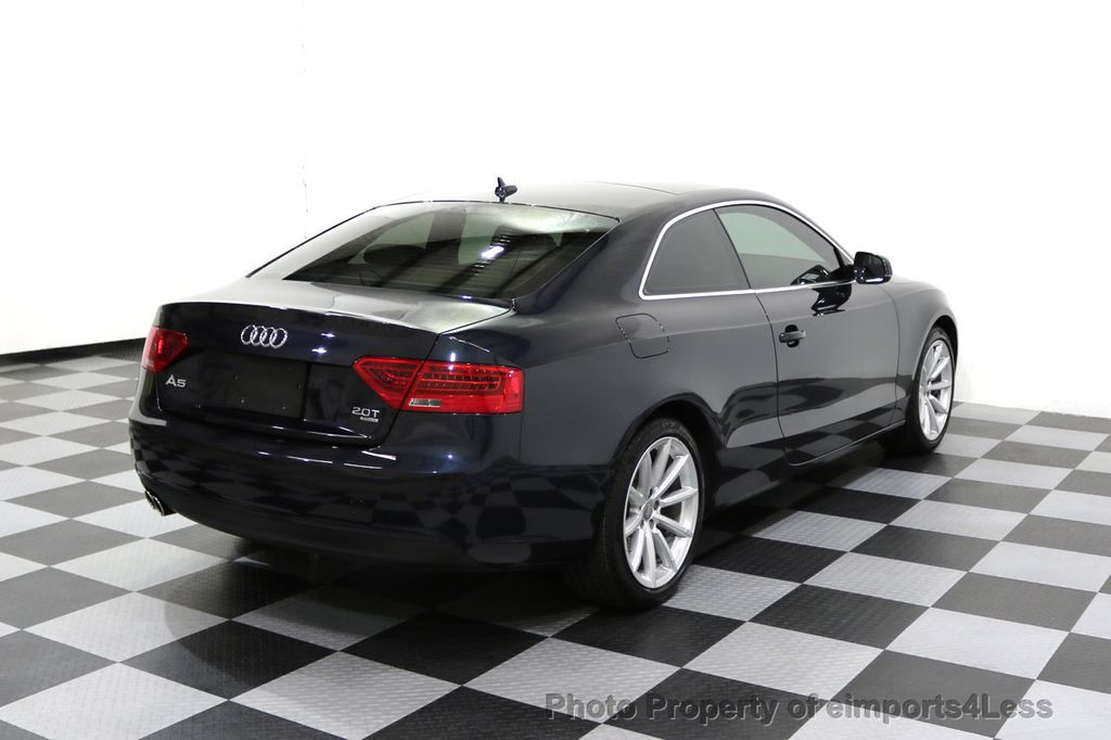 2015 Audi A5 CERTIFIED A5 2.0t Quattro AWD 6 SPEED MANUAL TRANSMISSION - 17718772 - 53