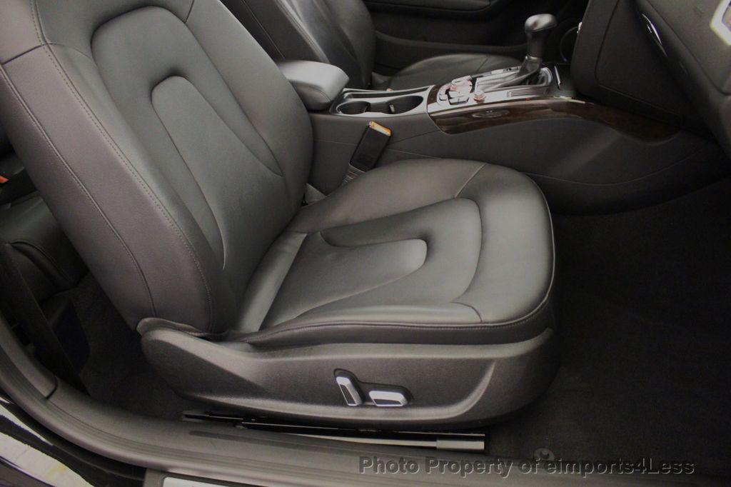 2015 Audi A5 CERTIFIED A5 2.0t Quattro Premium Plus S-Line AWD CAMERA NAVI - 18051525 - 24