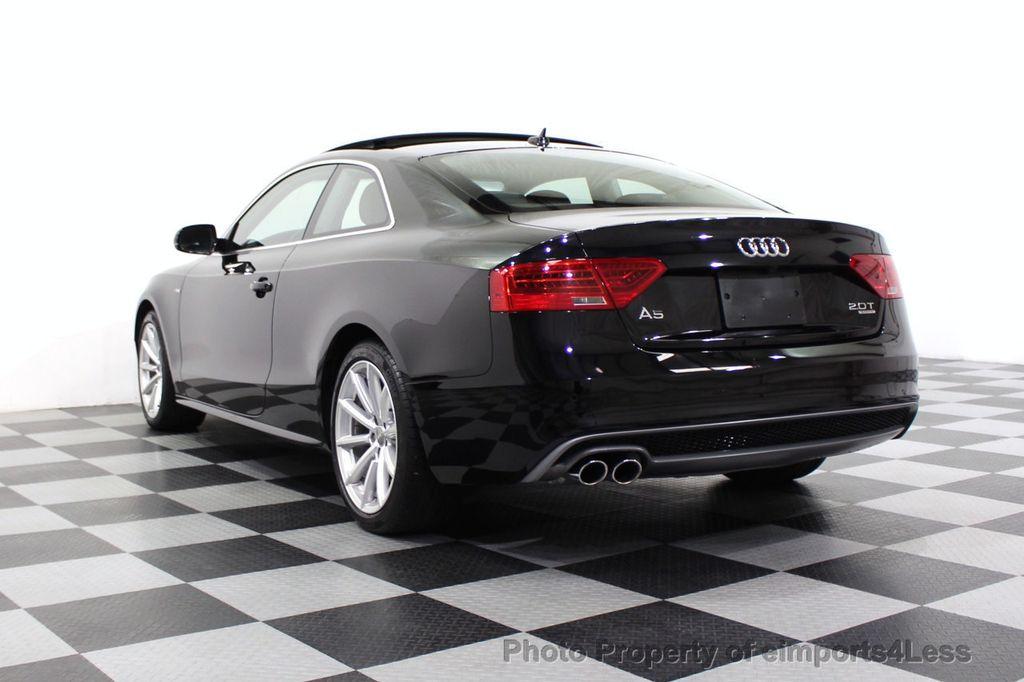 2015 Audi A5 CERTIFIED A5 2.0t Quattro Premium Plus S-Line AWD CAMERA NAVI - 18051525 - 2
