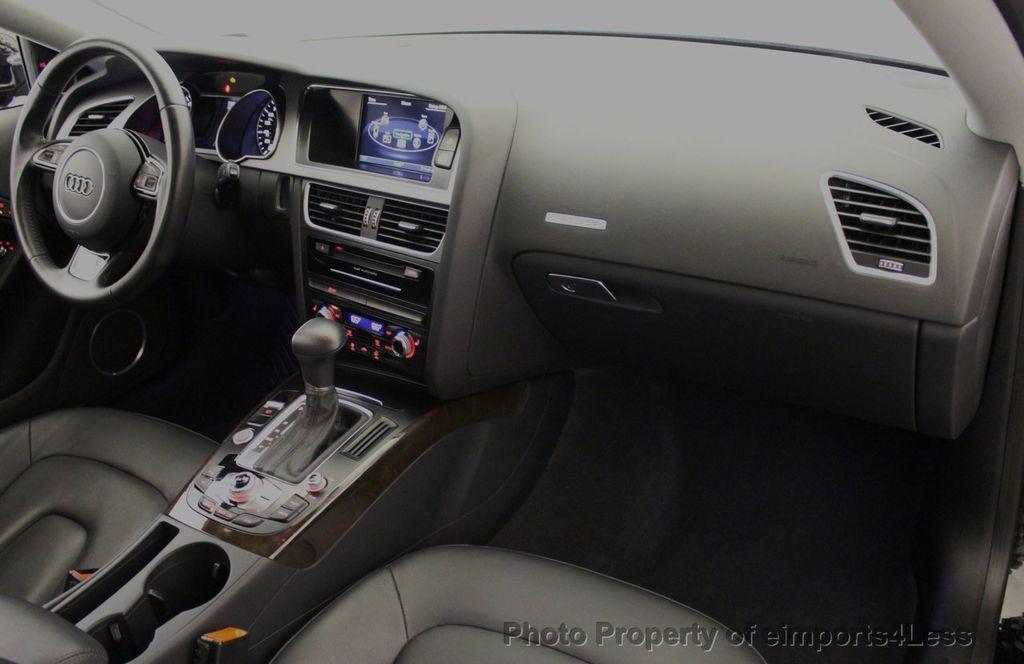 2015 Audi A5 CERTIFIED A5 2.0t Quattro Premium Plus S-Line AWD CAMERA NAVI - 18051525 - 35