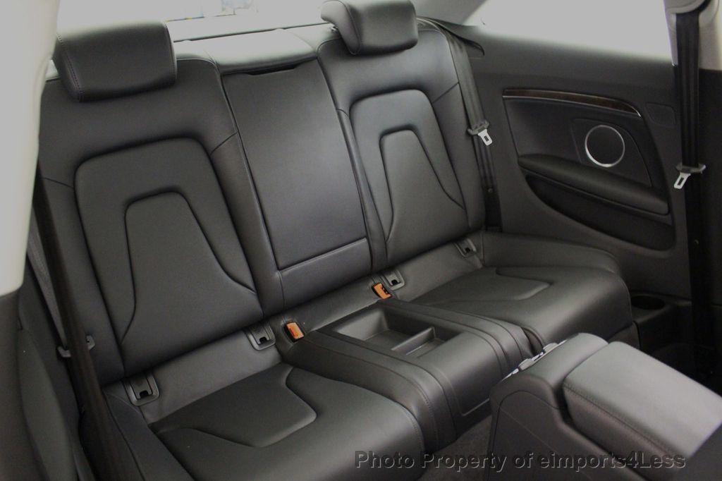 2015 Audi A5 CERTIFIED A5 2.0t Quattro Premium Plus S-Line AWD CAMERA NAVI - 18051525 - 37