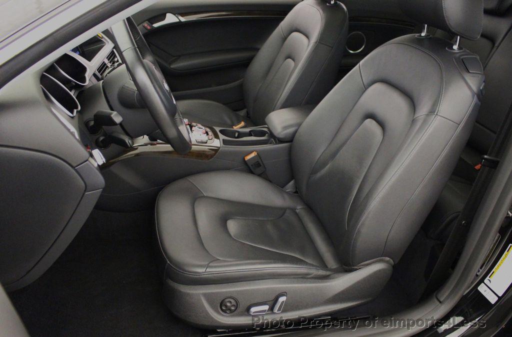 2015 Audi A5 CERTIFIED A5 2.0t Quattro Premium Plus S-Line AWD CAMERA NAVI - 18051525 - 38