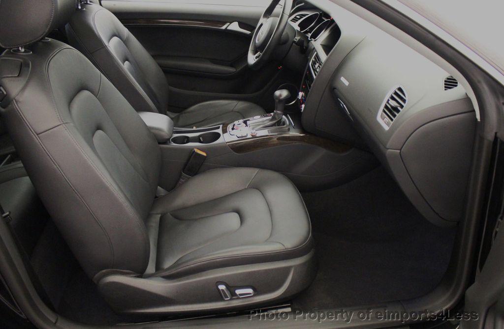 2015 Audi A5 CERTIFIED A5 2.0t Quattro Premium Plus S-Line AWD CAMERA NAVI - 18051525 - 39