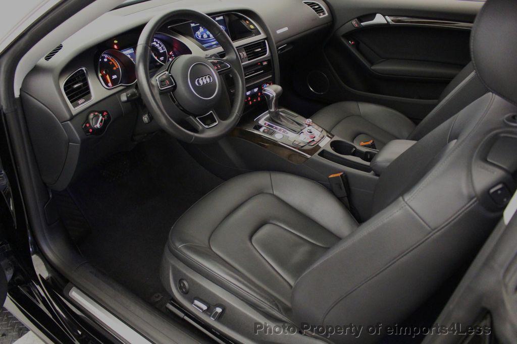 2015 Audi A5 CERTIFIED A5 2.0t Quattro Premium Plus S-Line AWD CAMERA NAVI - 18051525 - 48
