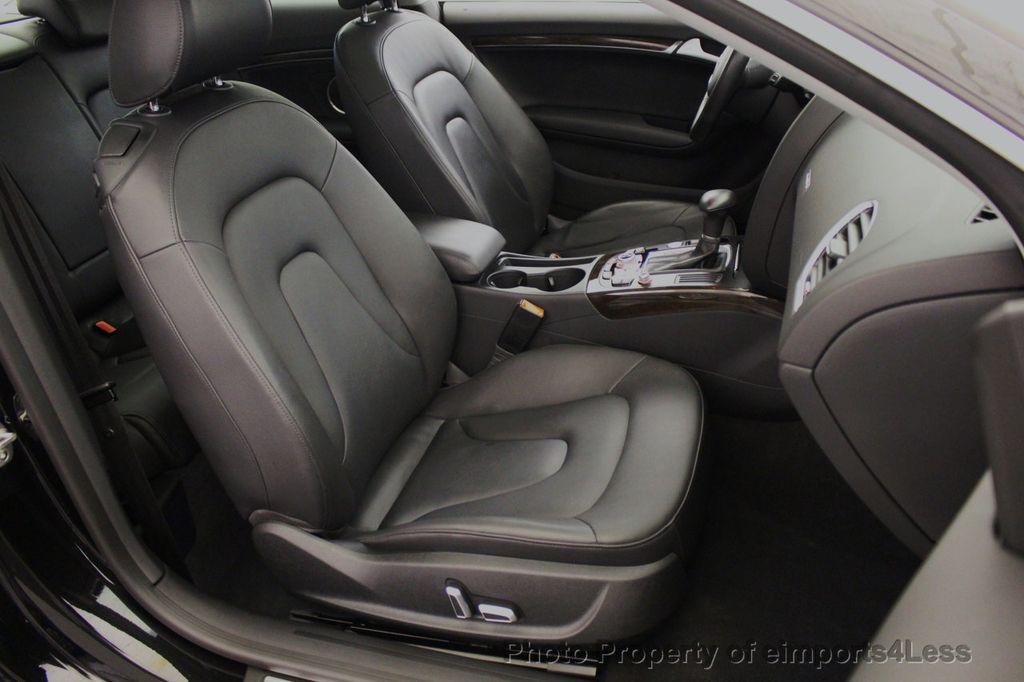 2015 Audi A5 CERTIFIED A5 2.0t Quattro Premium Plus S-Line AWD CAMERA NAVI - 18051525 - 49