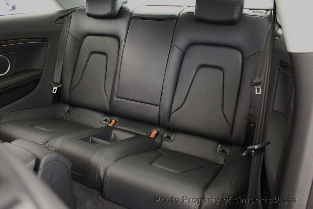 2015 Audi A5 CERTIFIED A5 2.0t Quattro Premium Plus S-Line AWD CAMERA NAVI - 18051525 - 50