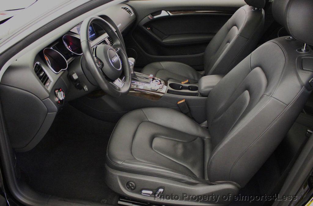 2015 Audi A5 CERTIFIED A5 2.0t Quattro Premium Plus S-Line AWD CAMERA NAVI - 18051525 - 5