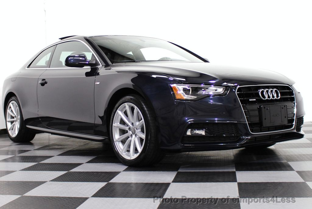 2015 used audi a5 certified a5 2 0t quattro s line awd premium plus coupe navi at eimports4less. Black Bedroom Furniture Sets. Home Design Ideas