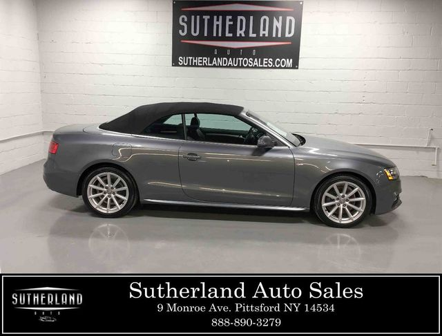 2015 Used Audi A5 Cabriolet 2dr Cabriolet Auto Quattro 2 0t Premium Plus At Sutherland Service Center Serving Pittsford Ny Iid 18491763