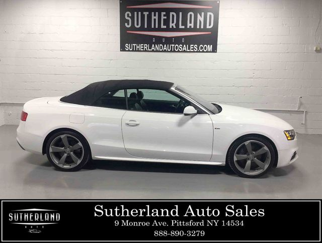 2015 Used Audi A5 Cabriolet 2dr Cabriolet Auto Quattro 2 0t Premium Plus At Sutherland Service Center Serving Pittsford Ny Iid 18633613