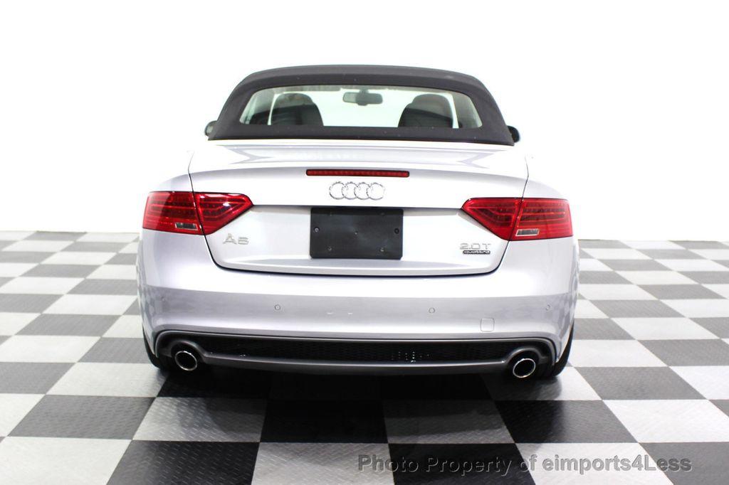 2015 Audi A5 Cabriolet CERTIFIED A5 Cabriolet 2.0T Quattro AWD S-Line CAMERA NAV - 18191706 - 16