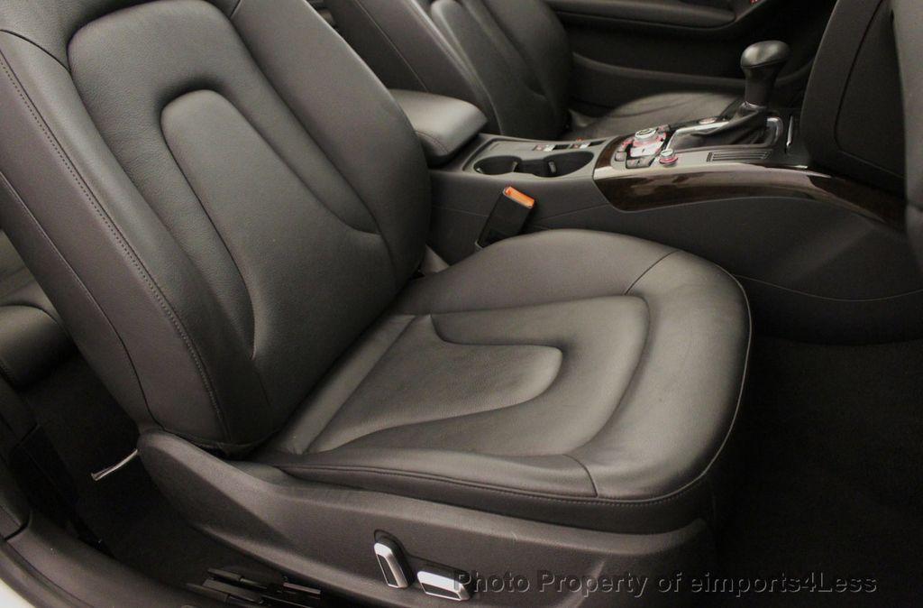 2015 Audi A5 Cabriolet CERTIFIED A5 Cabriolet 2.0T Quattro AWD S-Line CAMERA NAV - 18191706 - 23