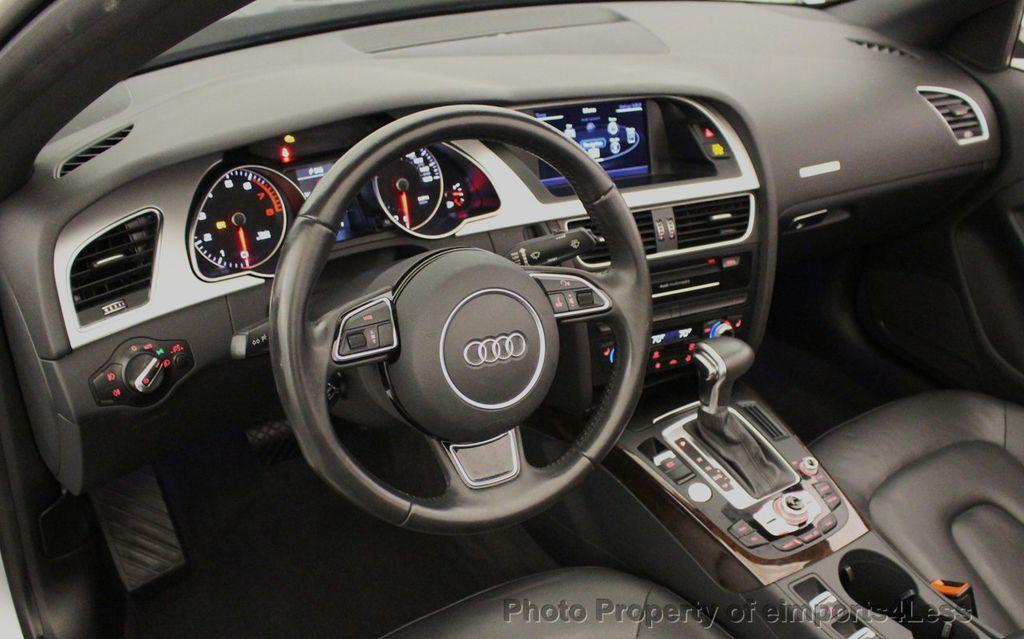 2015 Audi A5 Cabriolet CERTIFIED A5 Cabriolet 2.0T Quattro AWD S-Line CAMERA NAV - 18191706 - 32