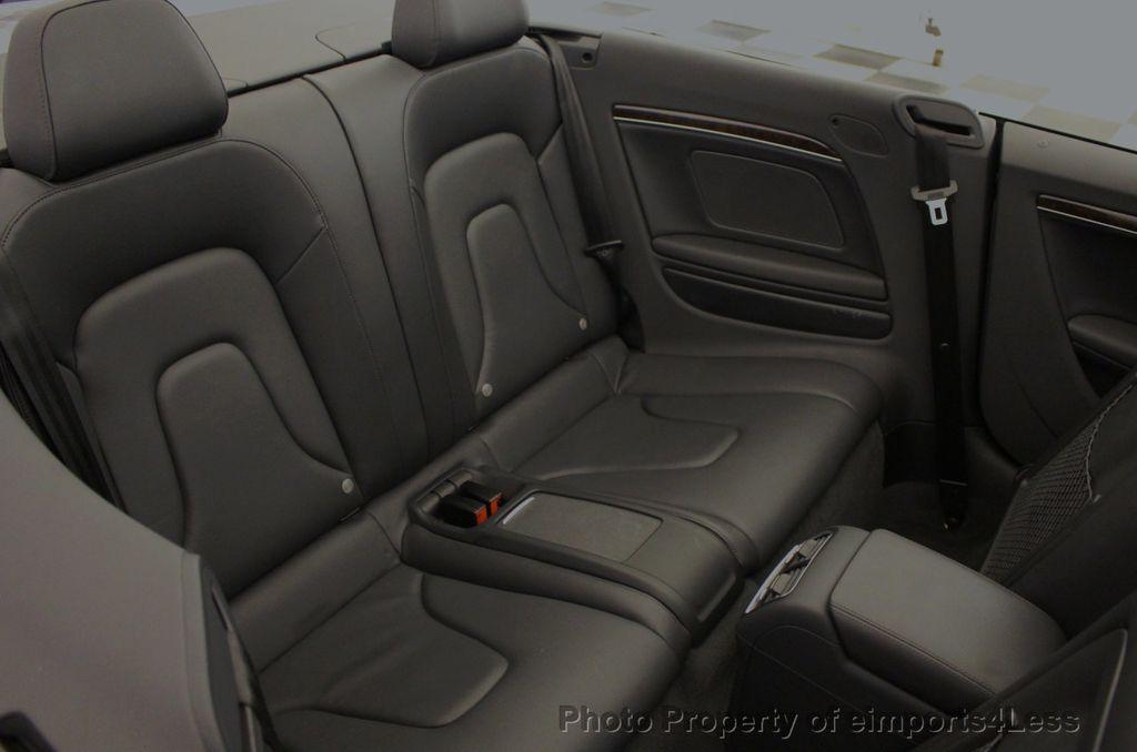 2015 Audi A5 Cabriolet CERTIFIED A5 Cabriolet 2.0T Quattro AWD S-Line CAMERA NAV - 18191706 - 36