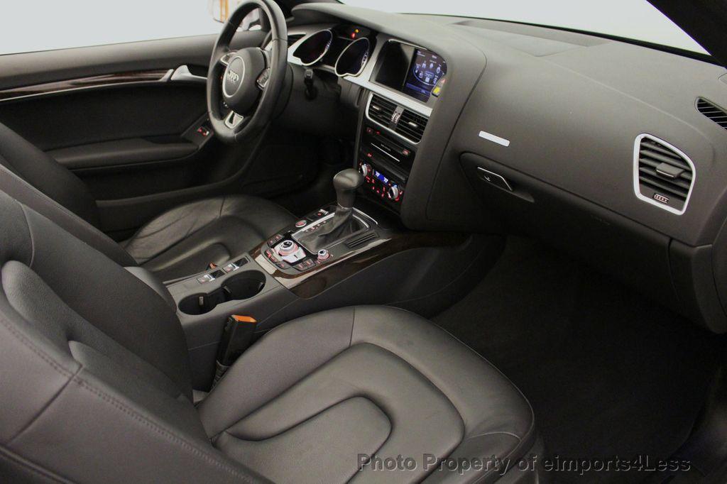 2015 Audi A5 Cabriolet CERTIFIED A5 Cabriolet 2.0T Quattro AWD S-Line CAMERA NAV - 18191706 - 38