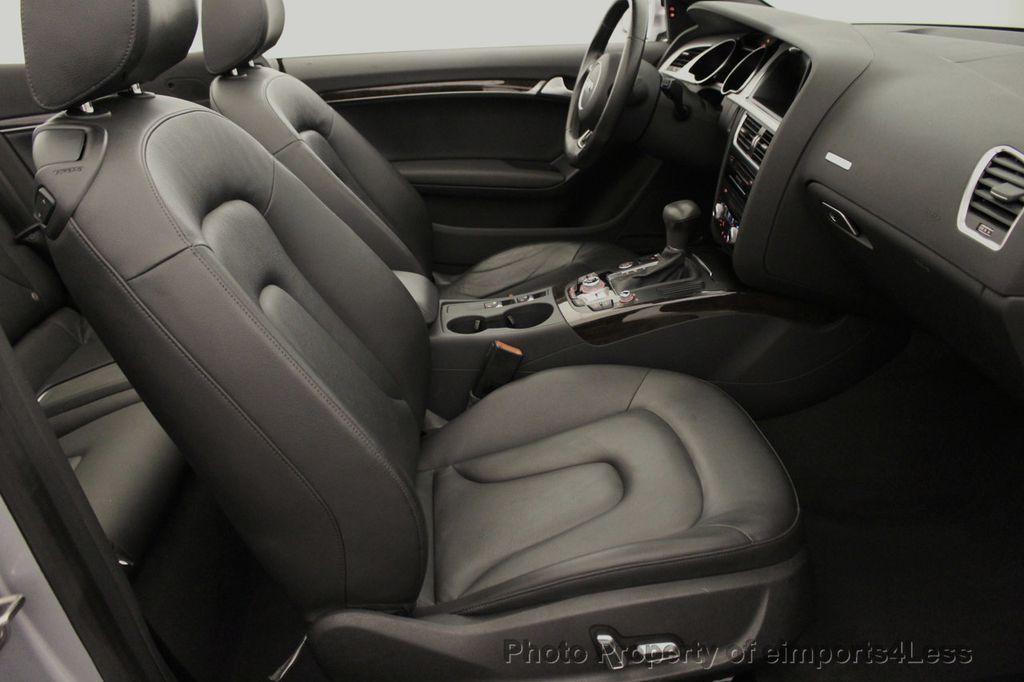2015 Audi A5 Cabriolet CERTIFIED A5 Cabriolet 2.0T Quattro AWD S-Line CAMERA NAV - 18191706 - 48
