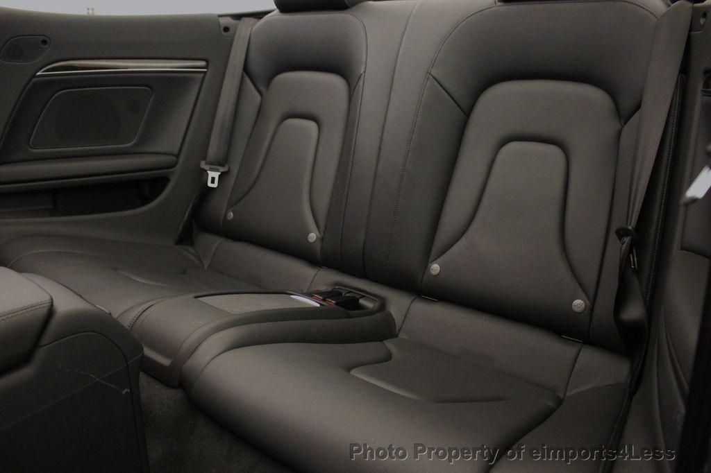 2015 Audi A5 Cabriolet CERTIFIED A5 Cabriolet 2.0T Quattro AWD S-Line CAMERA NAV - 18191706 - 49