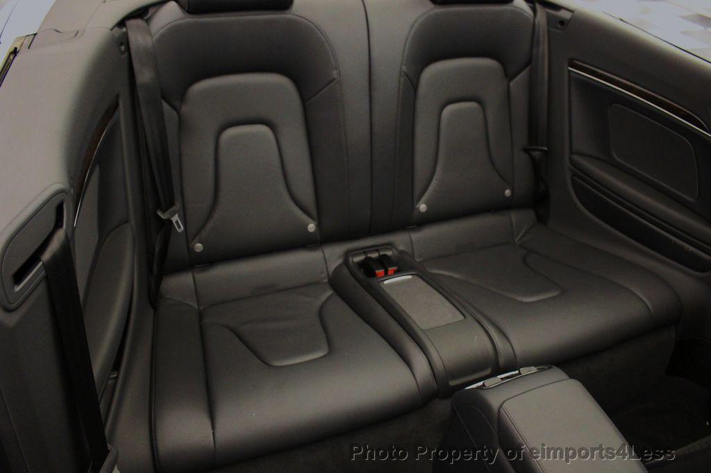 2015 Audi A5 Cabriolet CERTIFIED A5 Cabriolet 2.0T Quattro AWD S-Line CAMERA NAV - 18191706 - 50