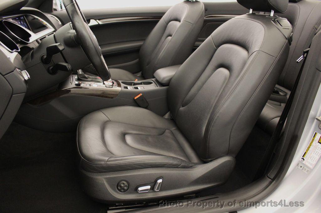 2015 Audi A5 Cabriolet CERTIFIED A5 Cabriolet 2.0T Quattro AWD S-Line CAMERA NAV - 18191706 - 5