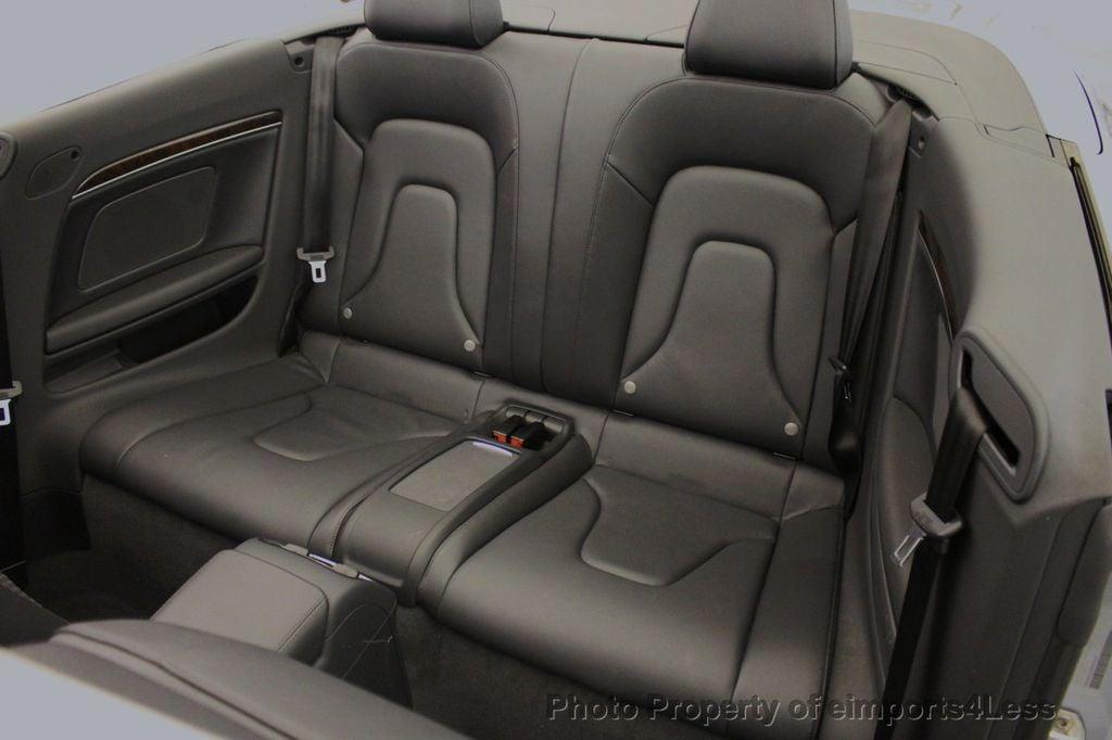 2015 Audi A5 Cabriolet CERTIFIED A5 Cabriolet 2.0T Quattro AWD S-Line CAMERA NAV - 18191706 - 7
