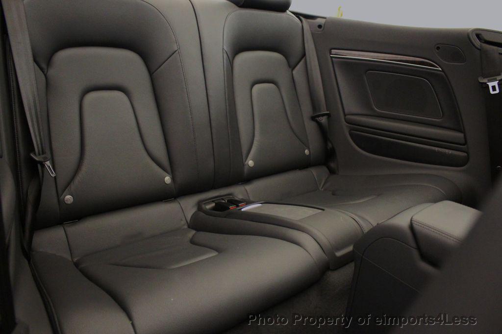 2015 Audi A5 Cabriolet CERTIFIED A5 Cabriolet 2.0T Quattro AWD S-Line CAMERA NAV - 18191706 - 8