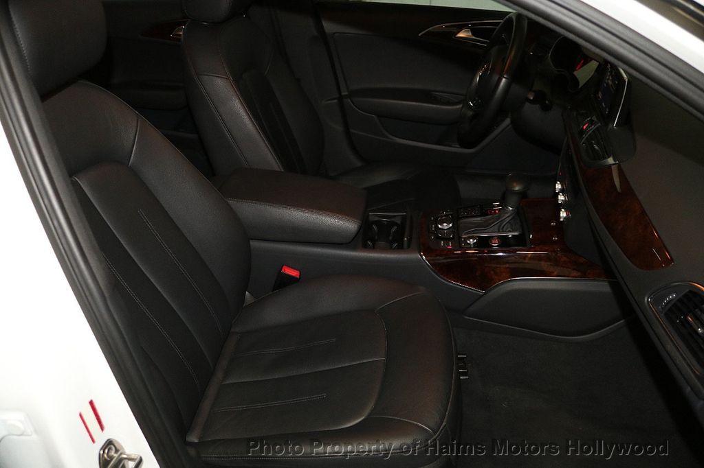 2015 Audi A6 4dr Sedan FrontTrak 2.0T Premium - 17740316 - 13