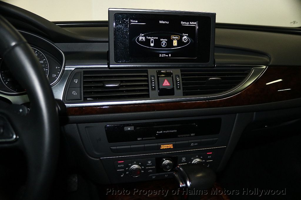 2015 Audi A6 4dr Sedan FrontTrak 2.0T Premium - 17740316 - 19
