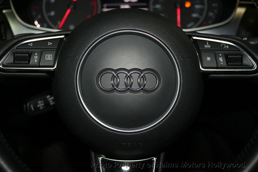 2015 Audi A6 4dr Sedan FrontTrak 2.0T Premium - 17740316 - 27