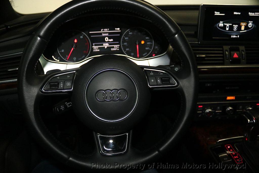 2015 Audi A6 4dr Sedan FrontTrak 2.0T Premium - 17740316 - 28