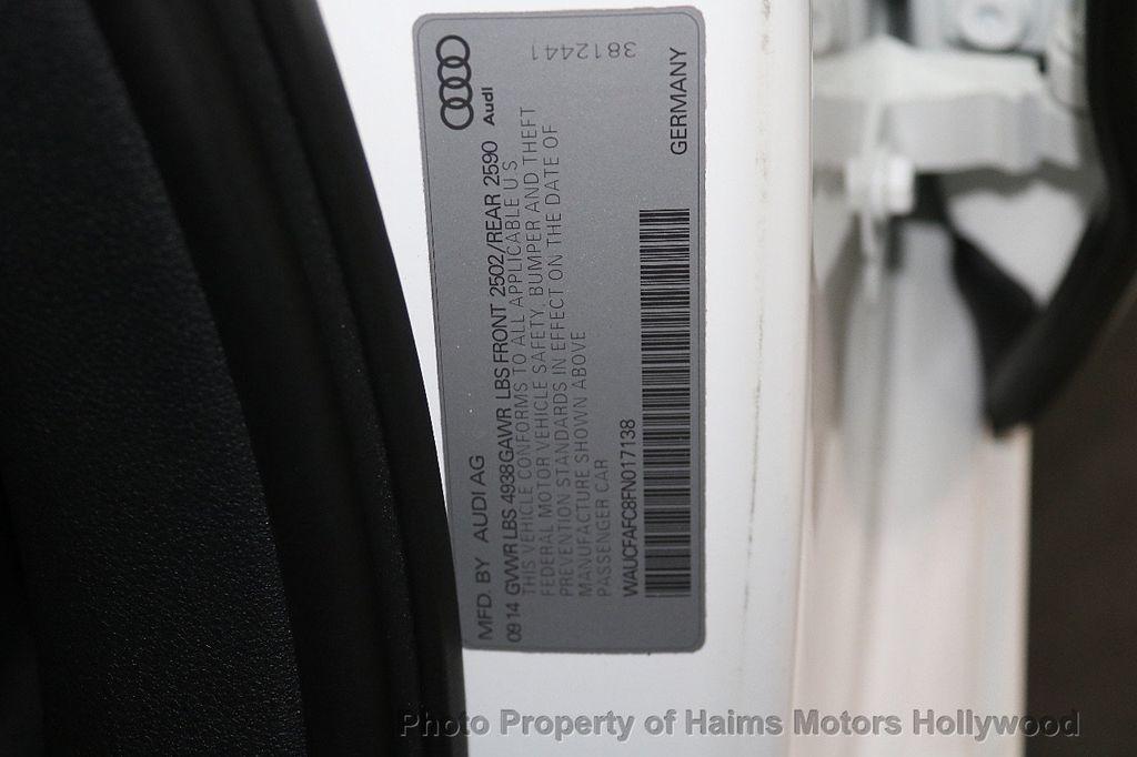 2015 Audi A6 4dr Sedan FrontTrak 2.0T Premium - 17740316 - 33