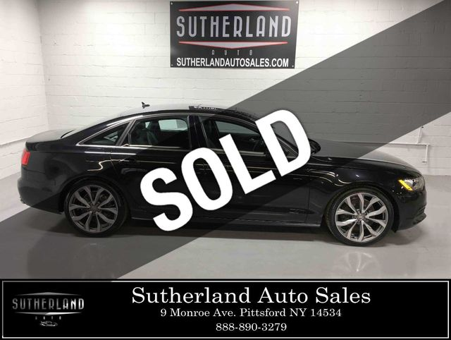 Audi 2.0 T >> 2015 Used Audi A6 4dr Sedan Quattro 2 0t Premium Plus At Sutherland Service Center Serving Pittsford Ny Iid 18390395