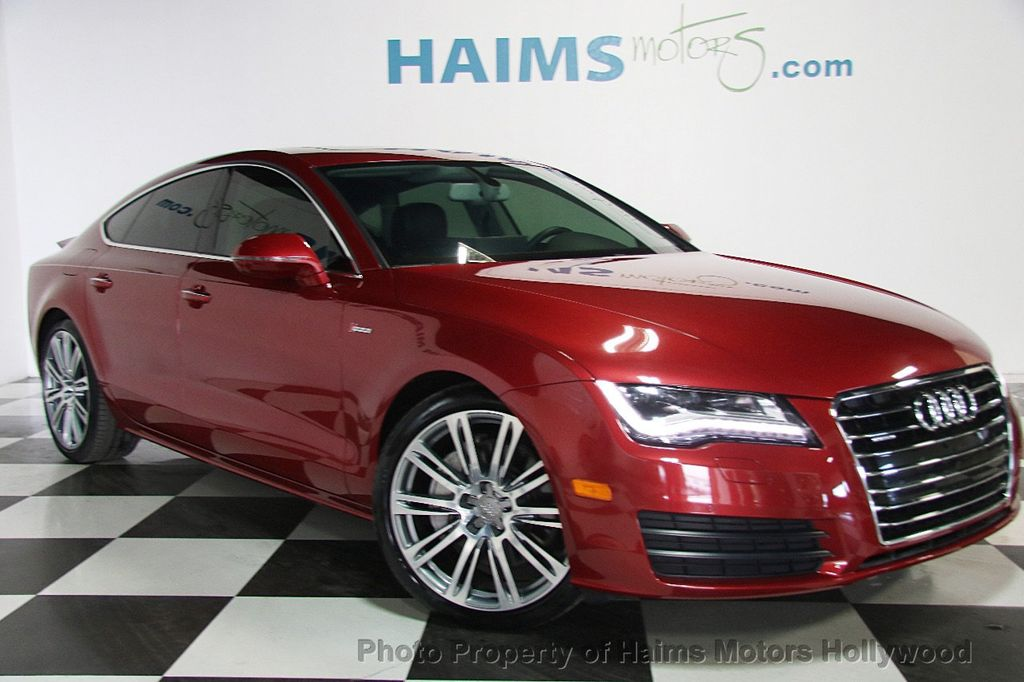 2015 used audi a7 4dr hatchback quattro 3 0 premium plus at haims motors serving fort lauderdale. Black Bedroom Furniture Sets. Home Design Ideas