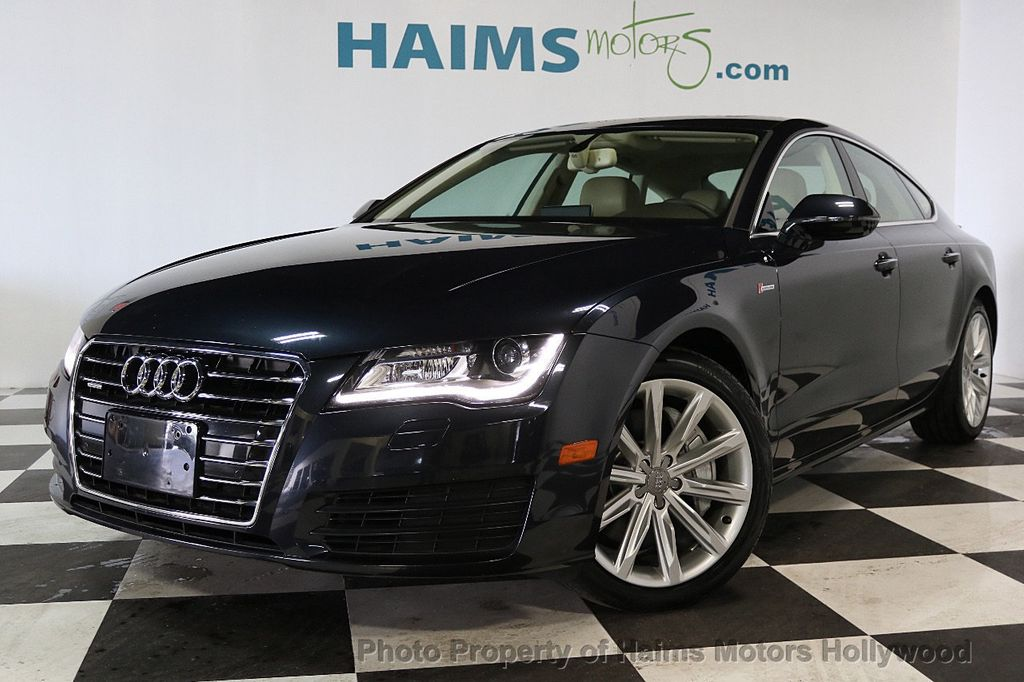 Used Audi A Dr Hatchback Quattro Premium Plus At Haims - Used audi a7