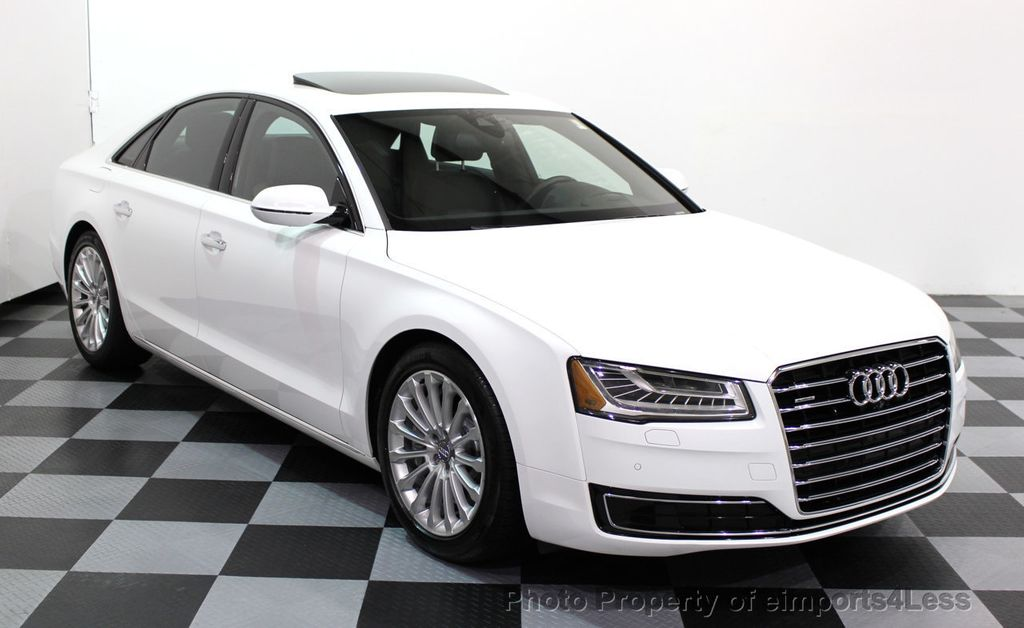 2015 Audi A8 CERTIFIED A8 3.0T Quattro AWD SURROUND CAM NAVI - 16831573 - 1