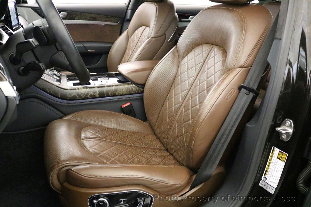 2015 Audi A8 CERTIFIED A8 4.0t V8 Quattro AWD PREMIUM LUX ASSIST - 17160385 - 32