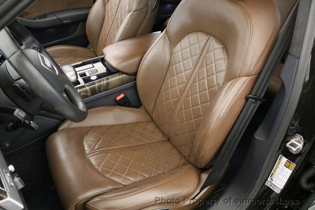 2015 Audi A8 CERTIFIED A8 4.0t V8 Quattro AWD PREMIUM LUX ASSIST - 17160385 - 36