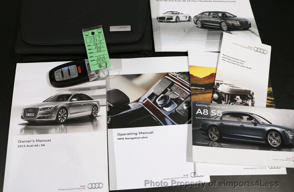 2015 Audi A8 CERTIFIED A8 4.0t V8 Quattro AWD PREMIUM LUX ASSIST - 17160385 - 38