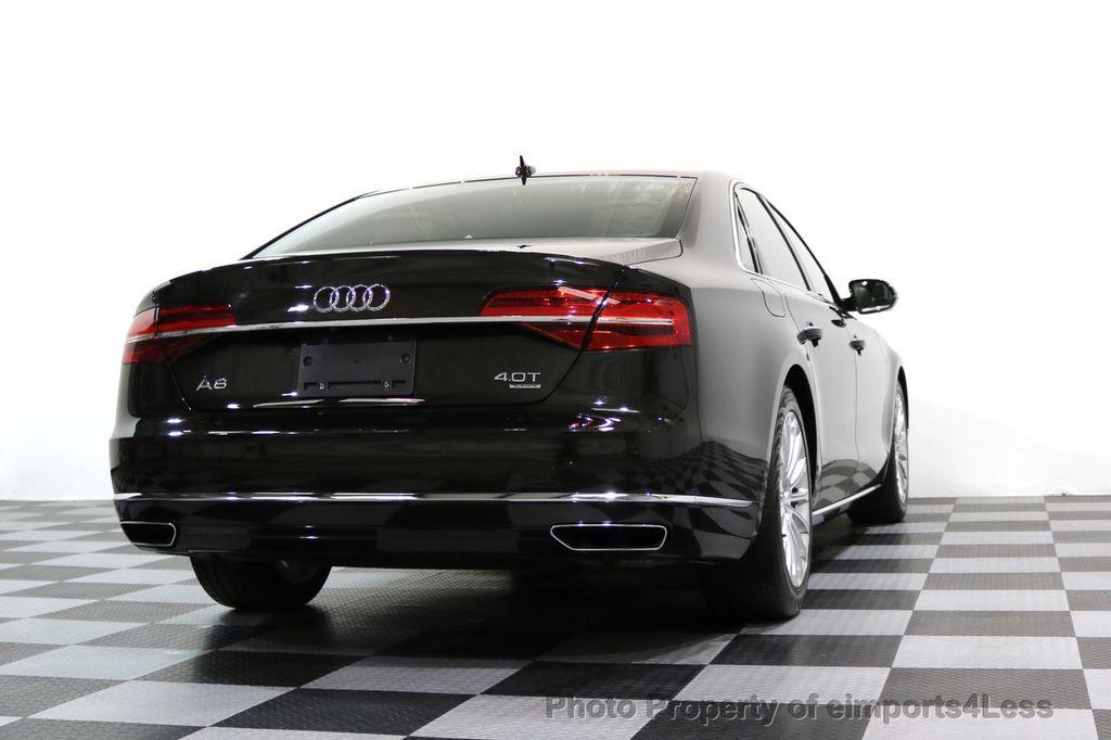 2015 Audi A8 CERTIFIED A8 4.0t V8 Quattro AWD PREMIUM LUX ASSIST - 17160385 - 44