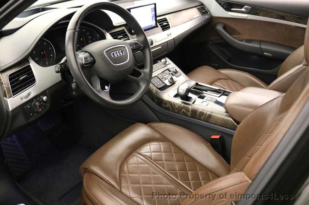 2015 Audi A8 CERTIFIED A8 4.0t V8 Quattro AWD PREMIUM LUX ASSIST - 17160385 - 7