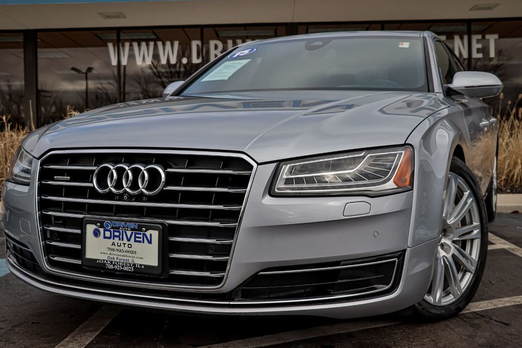 2015 Used Audi A8 L 4dr Sedan 40t At Driven Auto Of Oak Forest Il