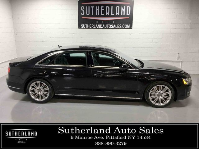 2015 Used Audi A8 L 4dr Sedan 4 0t At Sutherland Service Center Serving Pittsford Ny Iid 18415748