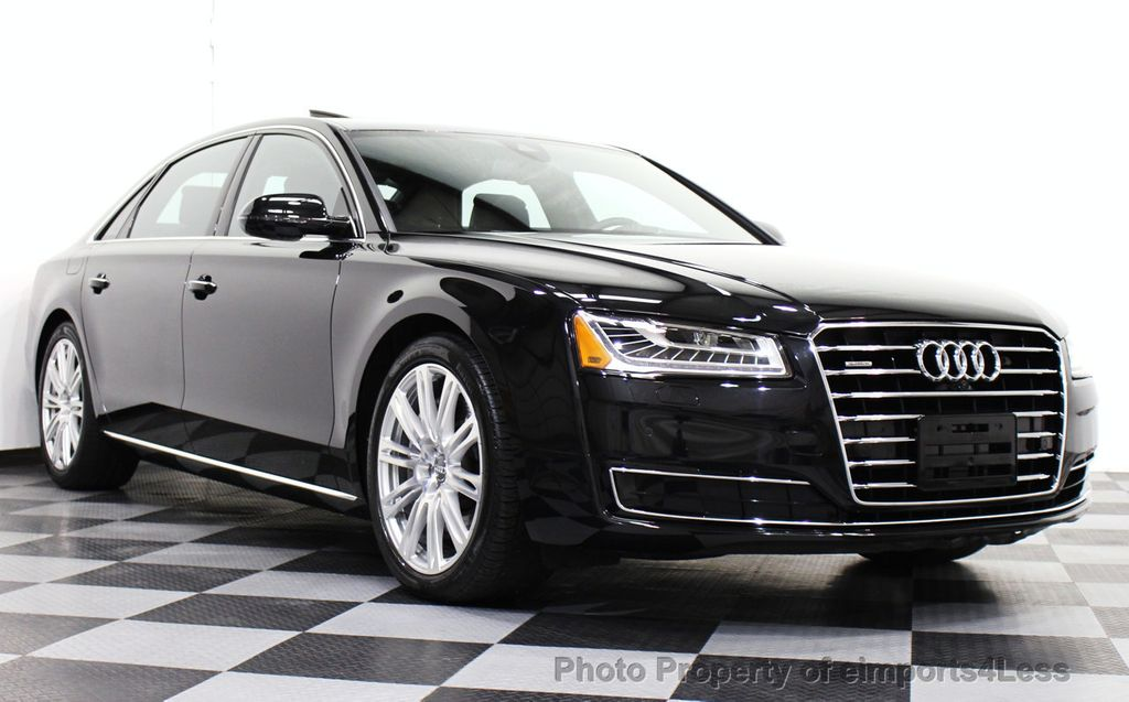 2015 Used Audi A8 L Certified A8l 3 0t Quattro Awd Sedan