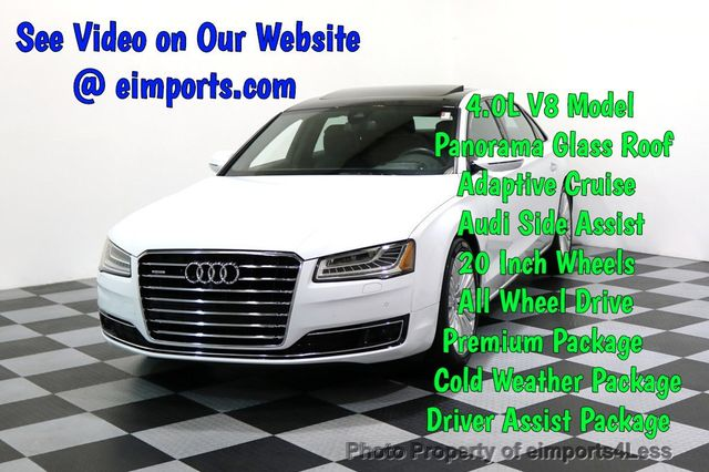 2015 Used Audi A8 L Certified A8l 4 0t V8 Quattro Awd Adaptive Cruise Pano Nav At Eimports4less Serving Doylestown Bucks County Pa Iid 17365115