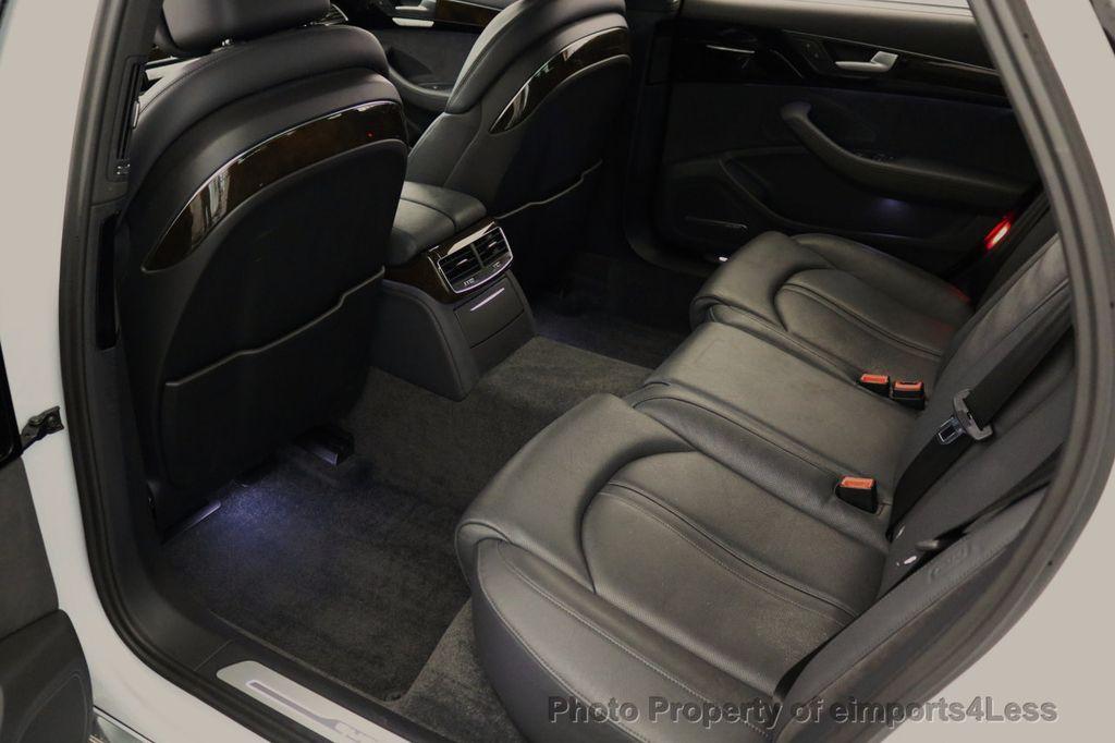 2015 Audi A8 L CERTIFIED A8L 4.0T V8 Quattro AWD Adaptive Cruise PANO NAV - 17365115 - 9