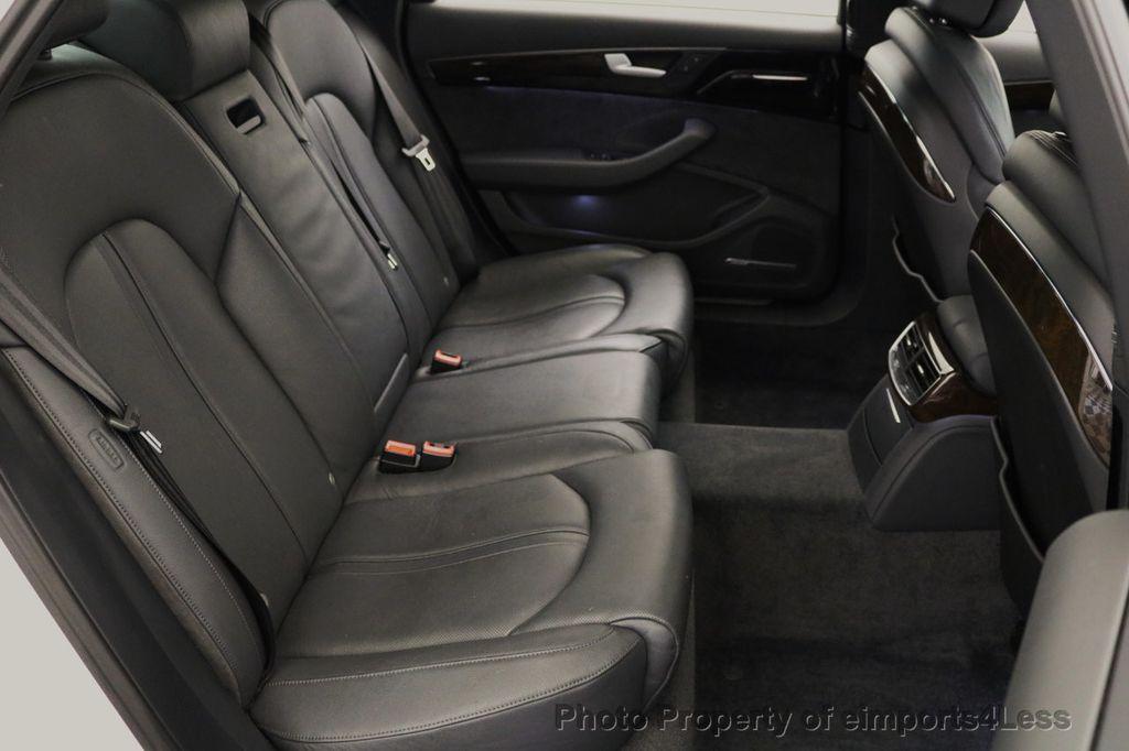 2015 Audi A8 L CERTIFIED A8L 4.0T V8 Quattro AWD Adaptive Cruise PANO NAV - 17365115 - 10