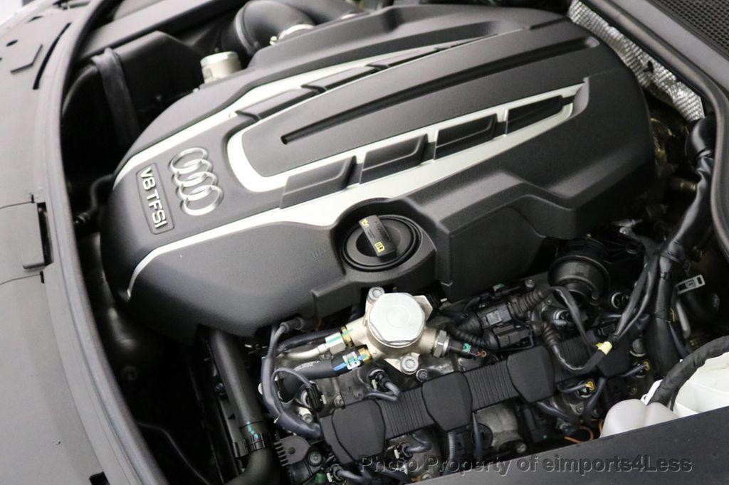 2015 Audi A8 L CERTIFIED A8L 4.0T V8 Quattro AWD Adaptive Cruise PANO NAV - 17365115 - 19