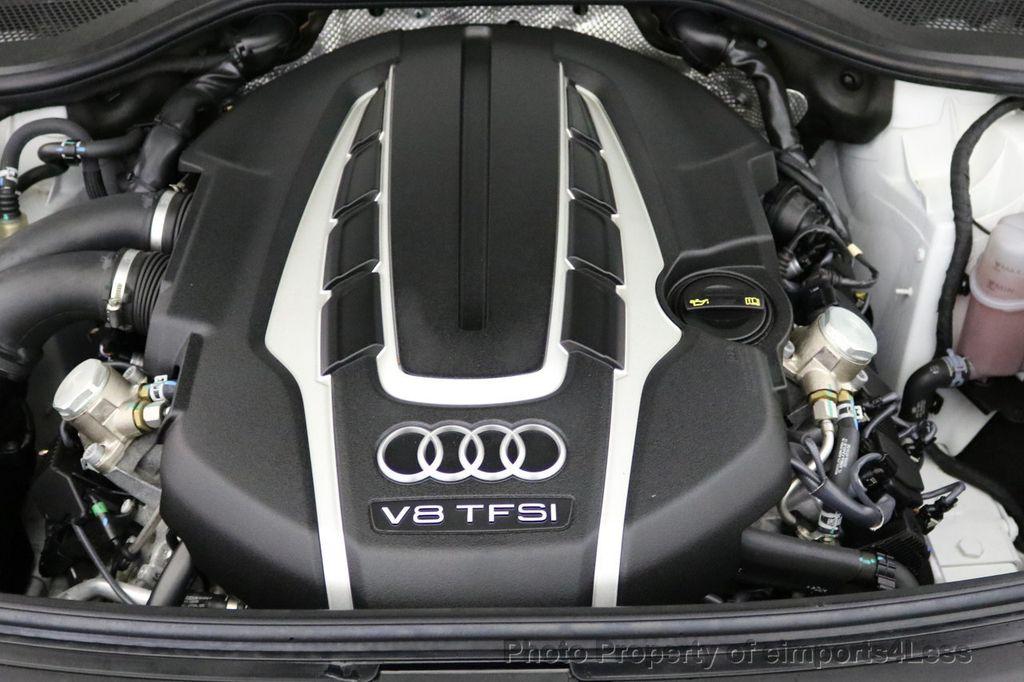 2015 Audi A8 L CERTIFIED A8L 4.0T V8 Quattro AWD Adaptive Cruise PANO NAV - 17365115 - 20