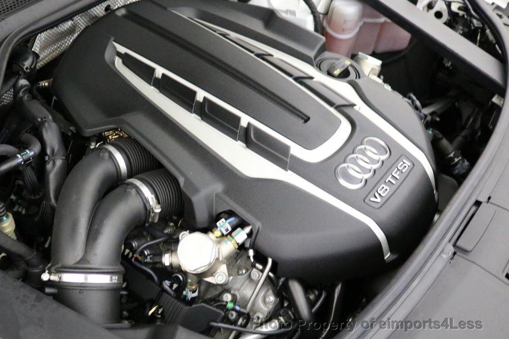 2015 Audi A8 L CERTIFIED A8L 4.0T V8 Quattro AWD Adaptive Cruise PANO NAV - 17365115 - 21